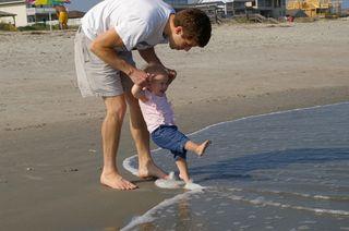 Canaan_daddy_beach